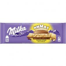 Milka Schoko & Keks – шоколад с молочной начинкой и печеньем, 300 гр.