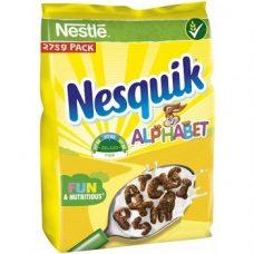 Nestle Nesquik Alphabet – готовый завтрак «Алфавит», 275 гр.