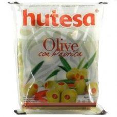 Оливки с паприкой Hutesa Con Paprika