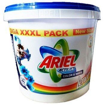 Ariel Actilift Lenor – универсальный стиральный порошок, 10.4 кг.