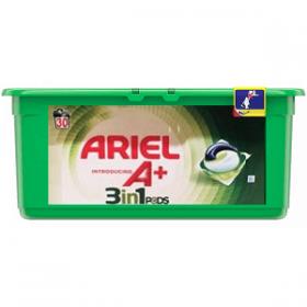 Ariel Pods A+ – капсулы для стирки белого и цветного 3в1, 30 шт.