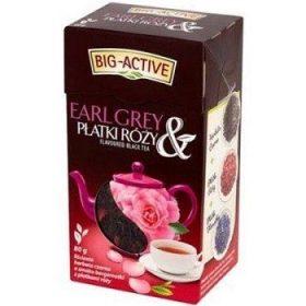 Big-Active Earl Grey Platki Rozy – черный чай с лепестками розы, 80 гр.
