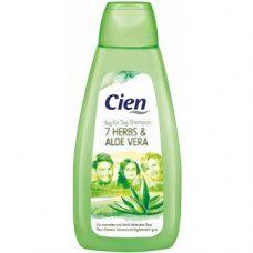 Cien 7 Herbs & Aloe vera – шампунь для жирных волос, 500 мл.