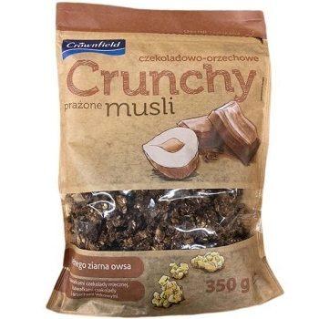 Crownfield Czekoladowo-Orzechowe Crunchy – мюсли овсяные с шоколадом, 350 гр.