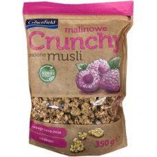 Мюсли с малиной Crownfield Malinowe Cranchy