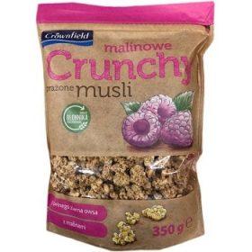 Crownfield Malinowe Crunchy – мюсли овсяные с малиной, 350 гр.