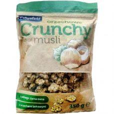 Овсяные мюсли Crownfield Orzechowe Crunchy