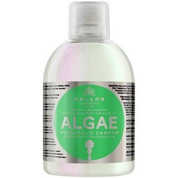 Kallos Algae Shampoo – шампунь увлажняющий с морскими водорослями, 1000 мл.