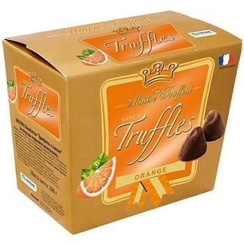 Трюфельные конфеты Maitre Truffout Truffles Orange