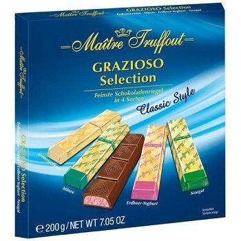 Шоколадные батончики Maitre Truffout Classic Style