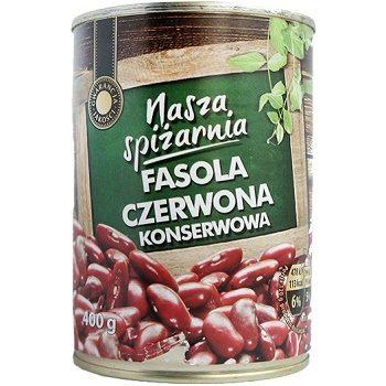 Nasza Spizarnia Fasola Czewona – консервированная красная фасоль, 400 гр.