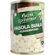 Nasza Spizarnia Fasola Biala – консервированная белая фасоль, 400 гр.
