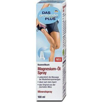 DAS gesunde PLUS Magnesium-Öl Spray – спрей с магниевым маслом, 100 мл.