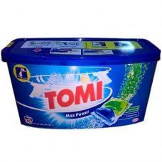 Tomi Max Power – универсальные капсулы для стирки, 45 шт.