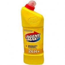 Agent Max Cytrynowy – средство для туалета (лимон), 1100 мл.