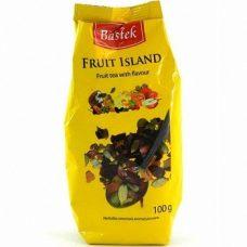 Bastek Fruit Island – фруктовый чай с соцветиями, 100 гр.