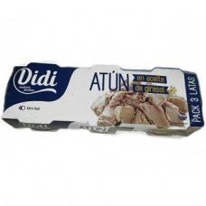 Didi Atun en Aceite de Girasol – тунец в растительном масле, 240 гр.