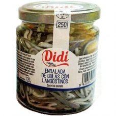 Didi Ensalada de Gulas con Langostinos – салат из морепродуктов, 220 гр.