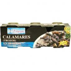 Dineva Calamares en su Tinta – кальмар в собственных чернилах, 240 гр.