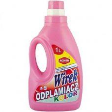 Wirek Odplamiacz Kolor – пятновыводитель для цветных тканей, 1000 мл.