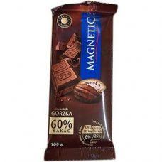 Magnetic Czekolada Gorzka – черный шоколад, 100 гр.