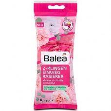 Balea 2-Klingen Einwegrasierer – бритвенные станки для женщин (2 лезвия), 5 шт.