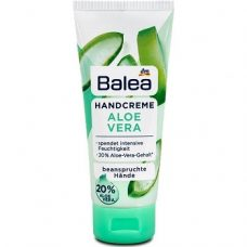 Balea Handcreme Aloe Vera – увлажняющий крем для рук, 100 мл.