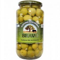 Bravo Aceitunas Chupadedos – зеленые оливки Manzanilla, 1000 гр.