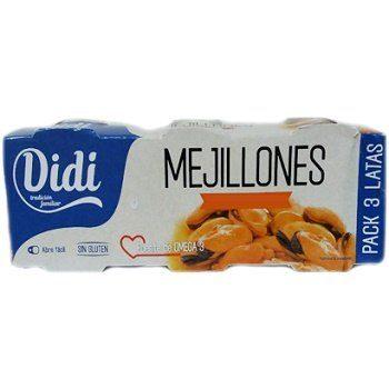 Мясо мидии Didi Mejillones