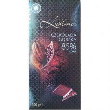 Luximo Czekolada Gorzka – черный шоколад без начинки, 100 гр.