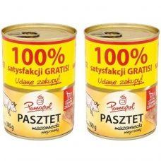 Pamapol Pasztet Mazowiecki – свиной паштет, 390х2 гр. (2 шт.)