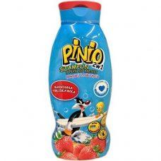 Детский шампунь Pinio 2in1 Truskawka