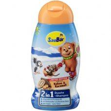 SauBar Dusche & Shampoo Kakao – детский шампунь и гель для душа, 250 мл.