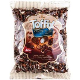 Elvan Toffix Coffee Chew – жевательные конфеты с кофейным вкусом, 1000 гр.