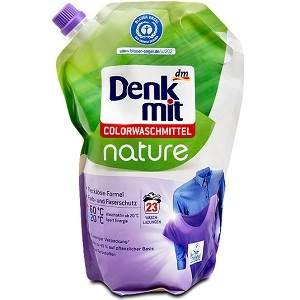 Denkmit Color Nature – жидкий био-порошок для цветного, 1500 мл.