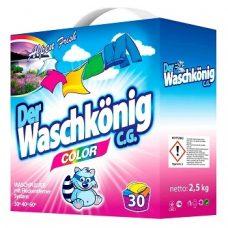 Der Waschkonig Color – стиральный порошок для цветного, 2.5 кг.