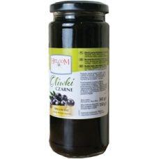 Helcom Oliwki Czarne – черные оливки без косточки (маслины), 345 гр.