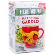 Herbarium Na Zdrowe Gordlo – травяной чай для горла, 20 шт.