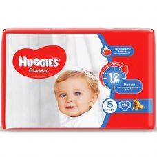 Huggies Classic 5 – детские подгузники (11-25 кг.), 42 шт.