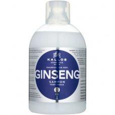 Kallos Ginseng – мужской шампунь с экстрактом женьшеня, 1000 мл.