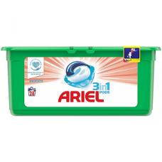 Ariel Pods Sensitive – капсулы для деликатной стирки 3в1, 28 шт.
