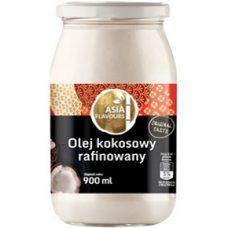 Asia Flovours Olej Kokosowy – масло кокосовое (рафинированное), 900 мл.