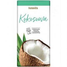 Terravita Kokosowa – молочный шоколад с кокосом, 100 гр.