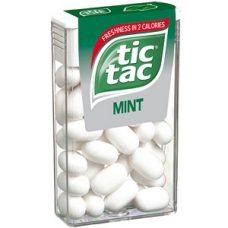 Tic Tac Mint – освежающее драже со вкусом мяты, 1 шт.