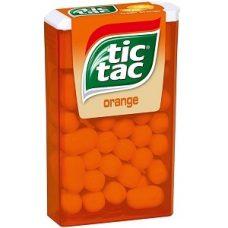 Tic Tac Orange – освежающее драже со вкусом апельсина, 1 шт.