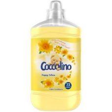 Coccolino Happy Yellow – ополаскиватель для белья (цветы), 1680 мл.