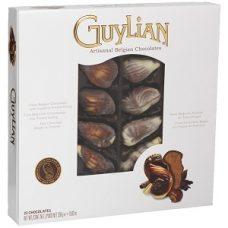 GuyLian Sea Shells – шоколадные конфеты с пралине, 250 гр.