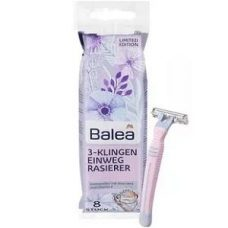 Balea 3-Klingen Einwegrasierer – бритвенные станки для женщин (3 лезвия), 8 шт.