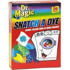 Dr. Magic Snatch – салфетки для стирки белых и цветных тканей, 20 шт.