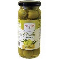 Helcom Oliwki Zielone – зеленые оливки без косточки, 345 гр.